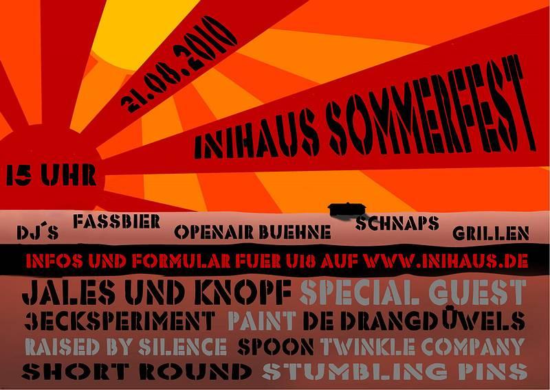 Inihaus Sommerfest 2010